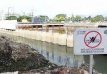 Proyek Pompa Sentiong Ancol